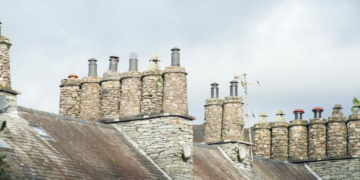 Roof Tops and Chimney Pots